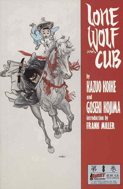 Lone Wolf and Cub #8 VF/NM; First | save on shipping - details inside