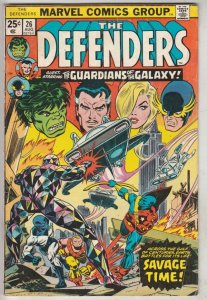 Defenders, The #26 (Aug-74) FN+ Mid-High-Grade Hulk, Dr. Strange, Valkyrie, N...