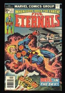 Eternals #3 VG/FN 5.0 1st Sersi