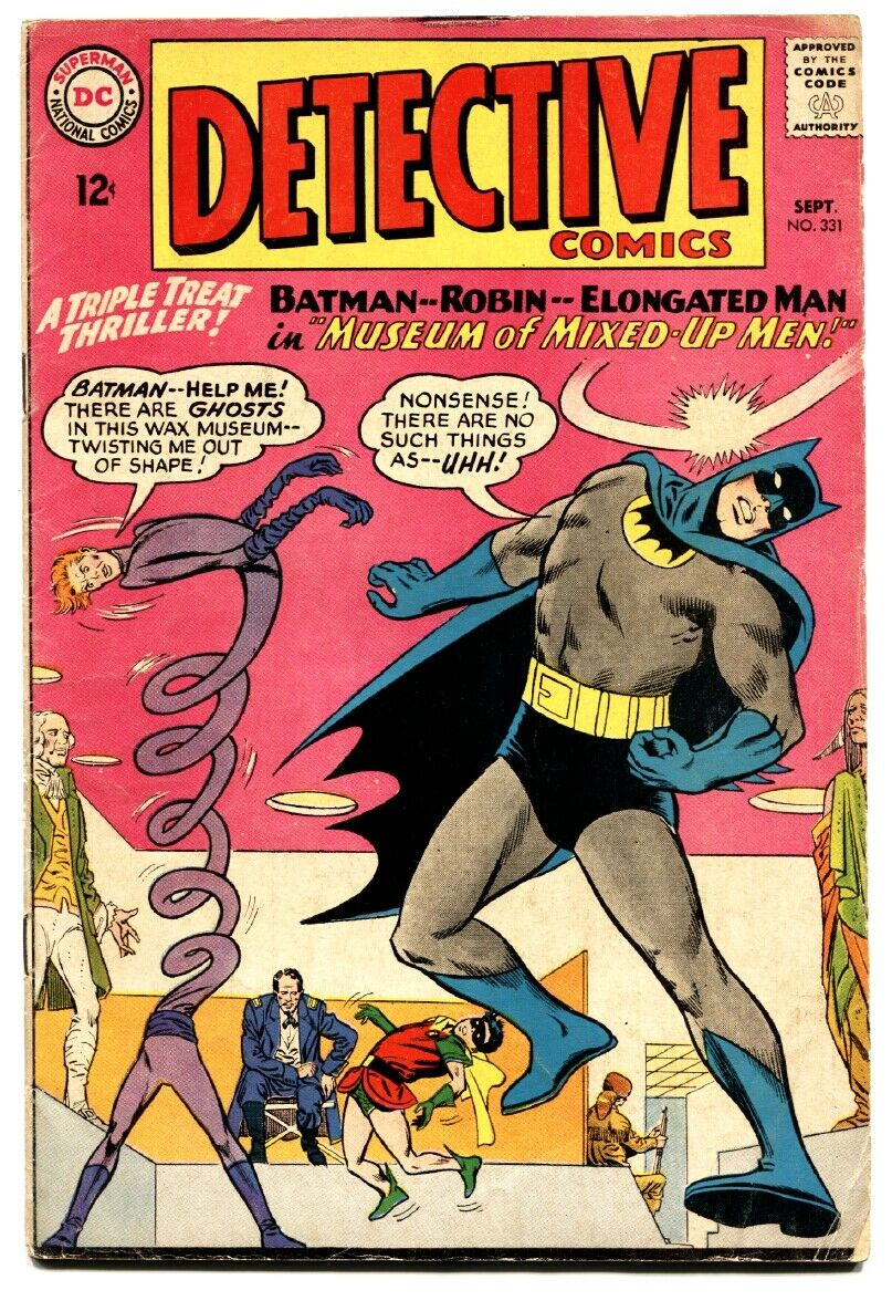 Detective Comics 331 Comic Book Batman And Robin Elongated Man
