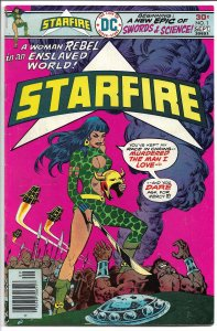 Starfire, Vol. 1, No. 1, - Bronze Age - Aug.-Sept. 1976 (VG+)