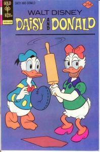 DAISY & DONALD 18 VF-NM   August 1976 Disney classic COMICS BOOK