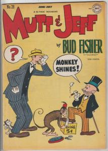 Mutt & Jeff #28 (Jun-47) VF+ High-Grade Mutt, Jeff