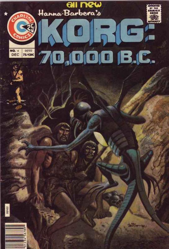 Korg:  70,000 B.C. #4 (Dec-75) VF/NM High-Grade Korg