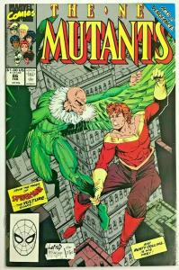 NEW MUTANTS#86 VF/NM 1990 FIRST ROB LIEFELD MARVEL  COMICS