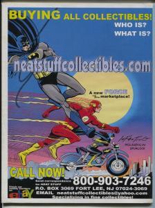 Comic Book Marketplace #87 2001-sophisticated collectors fanzine-Steranko-FN+