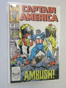 Captain America #346 Direct Edition 8.0 VF (1988)
