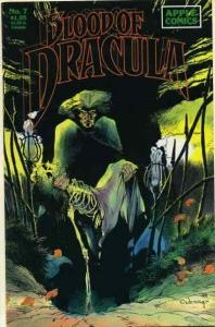 Blood of Dracula #7 FN; Apple | save on shipping - details inside
