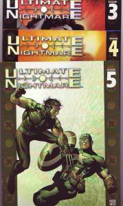 Ultimate Nightmare Set #1to5 (Oct-04) NM/NM- High-Grade Captain America, Wolv...