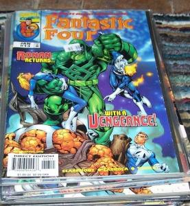 FANTASTIC FOUR #13 vol 3  1999 marvel- rowan returns kree