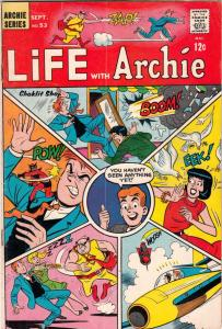 Life with Archie #53 (Sep-66) VG+ Affordable-Grade Archie, Jughead, Betty, Ve...