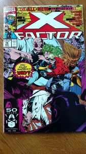 X-Factor #72 (Marvel, 1991) Condition: NM+