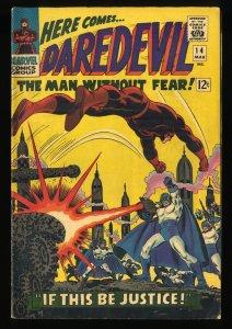 Daredevil #14 VG+ 4.5