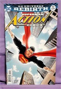 DC Rebirth Superman ACTION COMICS #957 Ryan Sook Variant Cover (DC, 2016)!