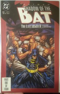 Batman: Shadow of the Bat #1 NM 1st Appearance of Victor Zsasz