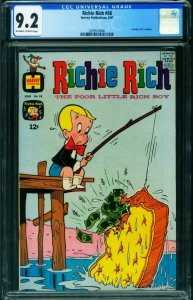 Richie Rich #58 CGC 9.2 1967 Harvey comic book 2039574006