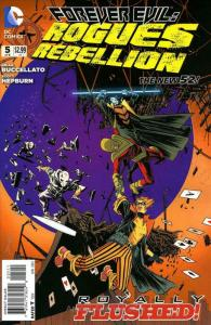 Forever Evil: Rogues Rebellion #5 VF/NM; DC   save on shipping - details inside