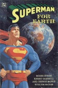 Superman For Earth #1, NM- (Stock photo)