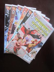 Teen Titans (2011 4th Series) #1-6 - 9.0 - 2011