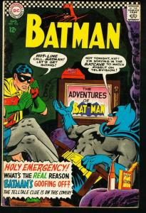 BATMAN #183-1966-DC-2ND POISON IVY-very good VG