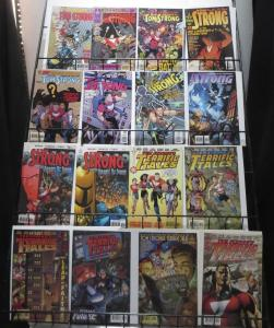 Tom Strong Collection of 17 comics Alan Moore ABC Terrific Adventure Tales
