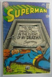 Superman (1st Series) #213, 2.0 (1969)