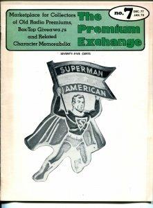 Premium Exchange #7 1977-A--Superman-Buck Rogers Solar Map-ray gun-VG