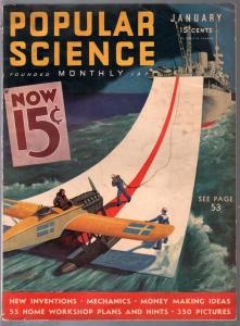 Popular Science 5/1932-futuristic aircraft carrier-Wittmack-Coast Guard-FN
