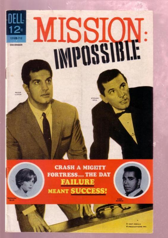 MISSION: IMPOSSIBLE #3 1967- STEVEN HILL-PETER LUPUS-TV VG