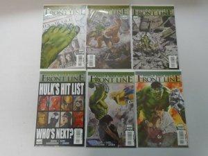 World War Hulk Frontline Set: #1-6 8.0 VF (2007)