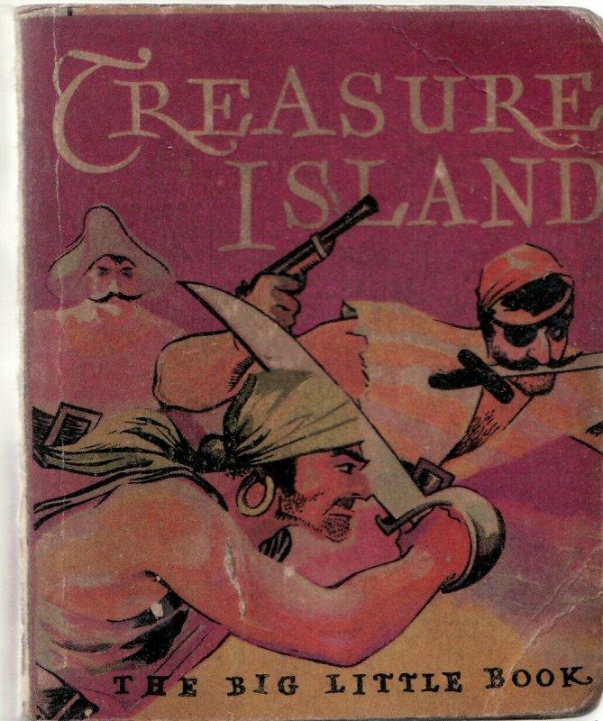 TREASURE ISLAND-'33-BIG LITTLE BOOK-WHITMAN-#720-PIRACY VG
