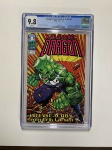 Savage Dragon 1 Cgc 9.8 White Pages Limited Series Image Comics