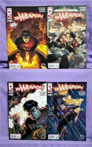 Fred Van Lente THE WEAPON #1 - 4 Scott Koblish (Platinum Studios, 2007)!