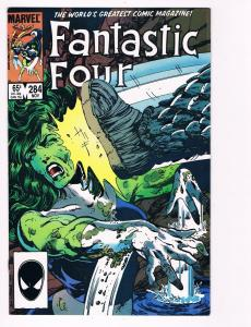 Fantastic Four # 284 Marvel Comic Book Hi-Res Scan Modern Age Awesome Issue!! S2