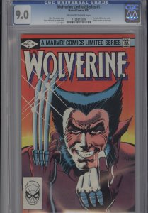 Wolverine #1 Limited Series  CGC 9.0