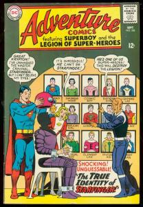 ADVENTURE COMICS #336-SUPERBOY-STARFINGER REVEALED-DC VG/FN