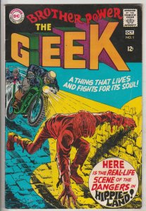 Brother Power the Geek #1 (Oct-68) FN+ Mid-Grade Brother Power the Geek