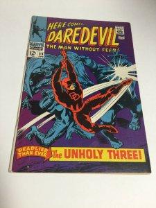 Daredevil 39 Fn Fine 6.0 Marvel Comics Silver Age