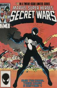 Marvel Super Heroes Secret Wars #8 VF/NM; Marvel | save on shipping - details in
