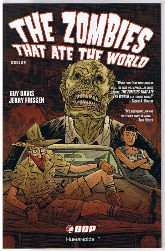 ZOMBIES THAT ATE the WORLD #2, NM, Guy Davis, 2009, Undead,more Horror in store