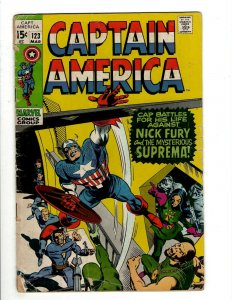 6 Captain America and the Falcon Marvel Comics # 123 149 153 154 155 156 J461