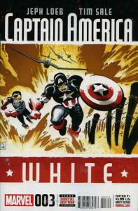 Captain America: White (2nd Series) #3 FN; Marvel | save on shipping - details i