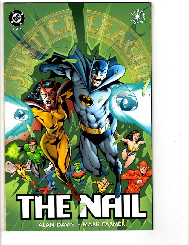 3 Justice League of America The Nail Comic Books # 1 2 3 JLA Batman ...
