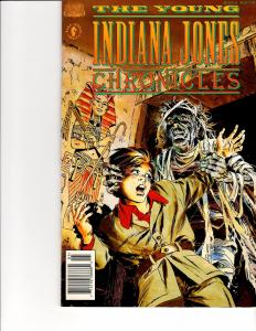 Lot Of 2 Now Comic Books Young Indiana Jones Chronicles #1 and Ralphsnart #5 ON3