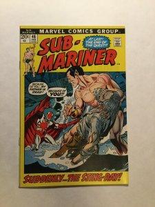 Sub Mariner 46 Near Mint Nm Marvel