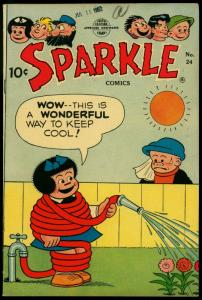 Sparkle Comics #24 1952- Nancy- Li'l Abner- Bushmiller FN