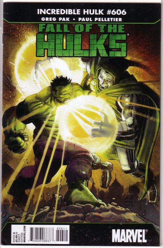 Incredible Hulk   vol. 1   #606 FN (Fall of the Hulks)