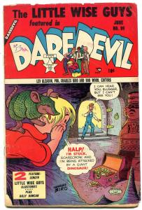 Daredevil #99 1953-Lev Gleason- Charles Biro- Little Wise Guys G