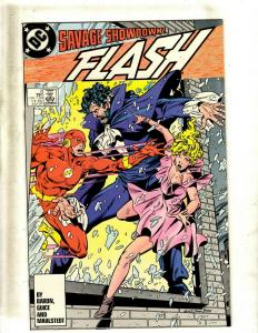 14 Comics Flash 2 Elongated Man 1 Worlds End 2 Brightest Day 2 Countdown 1+ J413