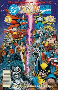 DC Versus Marvel #1 1st Printing N/M Condition